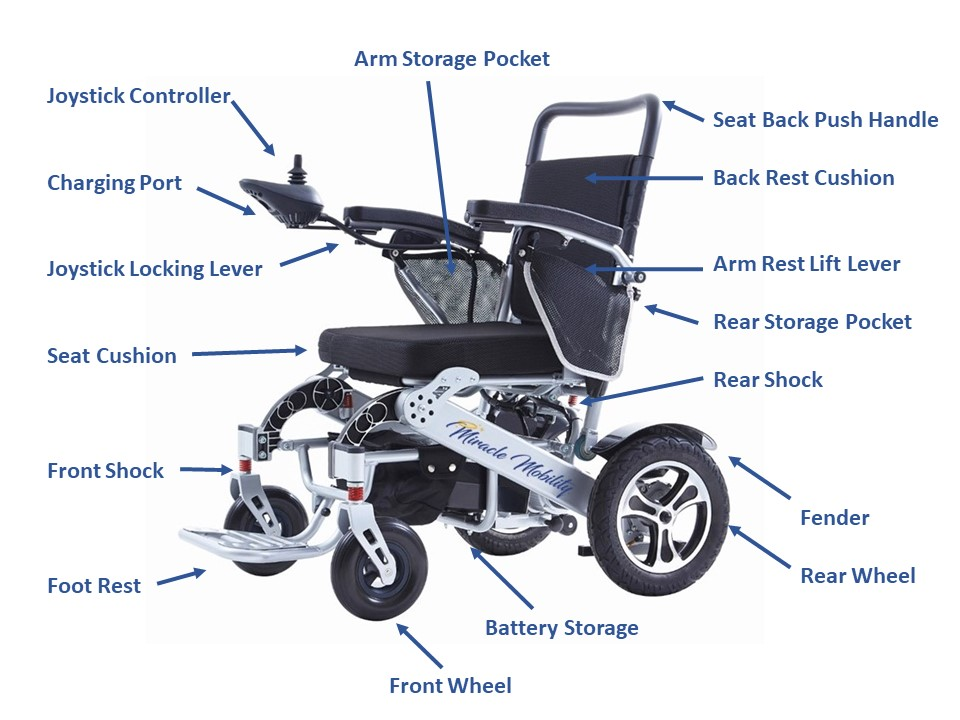 Miracle Mobility Freedom Series Platinum 8000